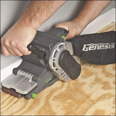 Genesis GBS321A belt sander review