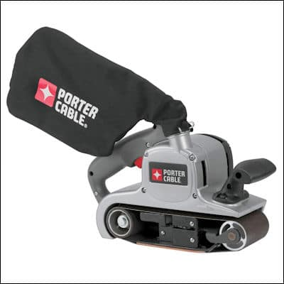 PORTER-CABLE 352VS belt sander review