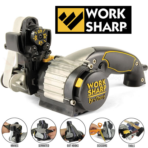 Work Sharp WSKTS-KO - Best belt sander for knife sharpening and knife making