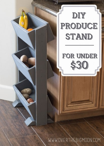 DIY Produce Stand for under $30