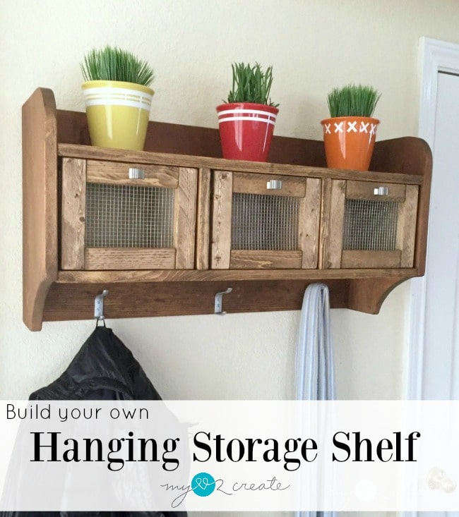 hanging storage shelf,MyLove2Create