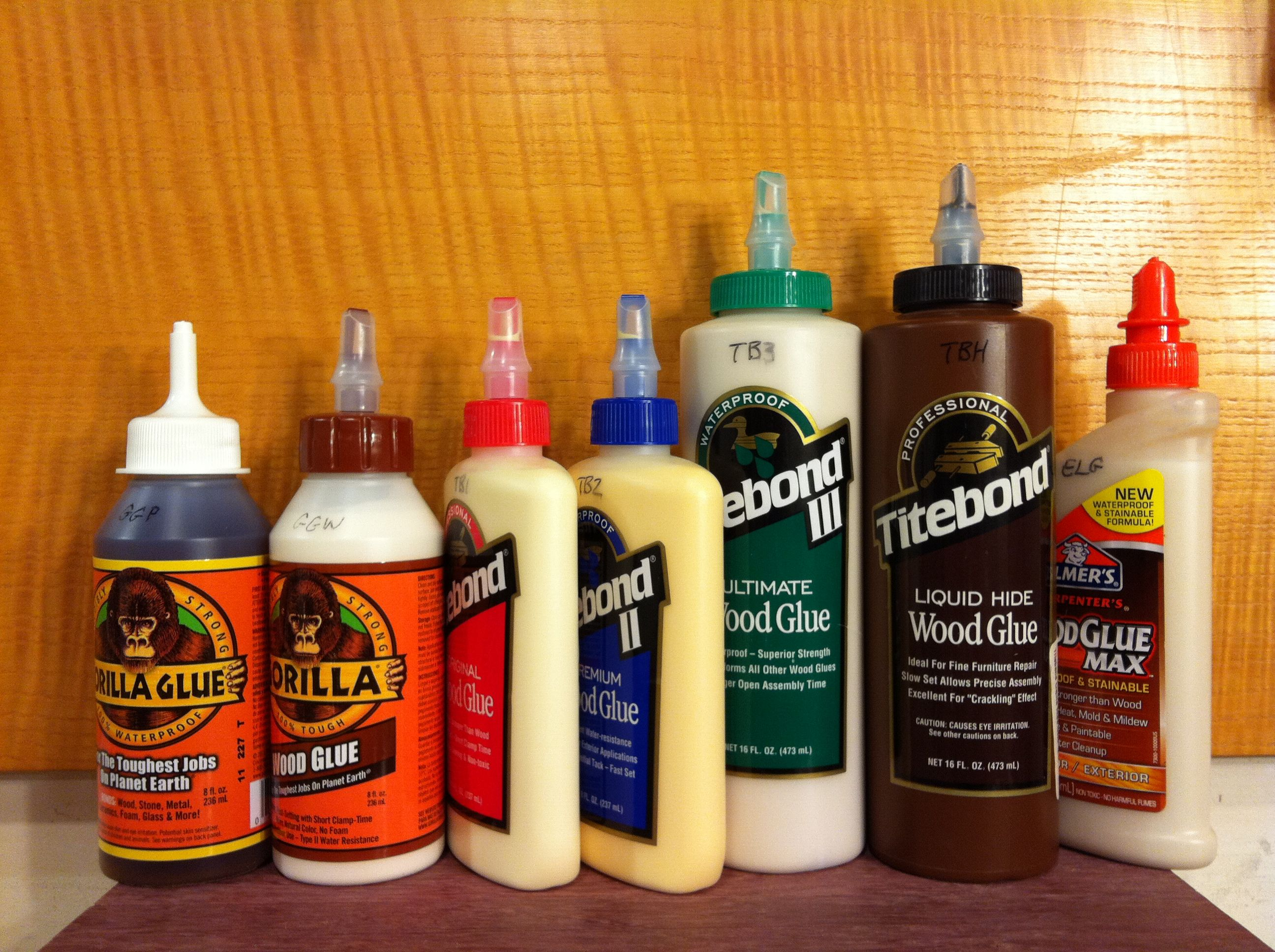 Types Of Wood Glue And Buying Guide Belt Sanders Expert